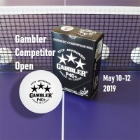 GAMBLER COMPETITOR OPEN TOURNAMENT